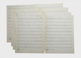 """""""harlem,"""" Orchestral Sketch"""