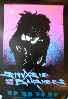 A Poster For Siouxsie And The Banshees