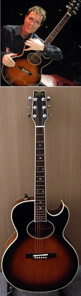 Cliff Richard Owned And Played Washburn Guitar