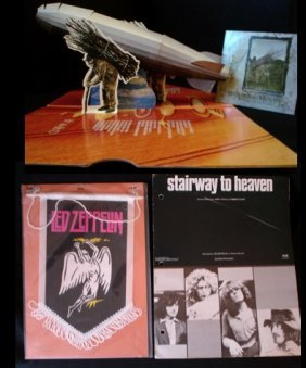 Led Zeppelin Stairway To Heaven An Extremely Rare P