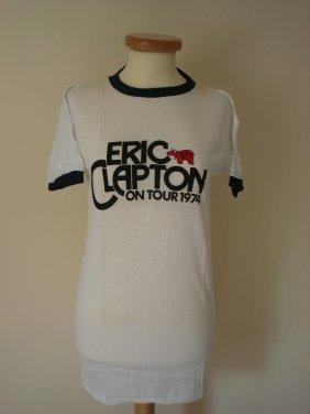 Eric Clapton Vintage 1974 T Shirt