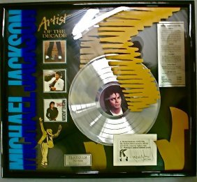 Michael Jackson Limited Ed. Special Award Signed