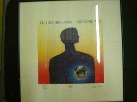Jean Michel Jarre Signed Print