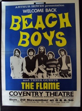 Beach Boys Poster  For Coventry