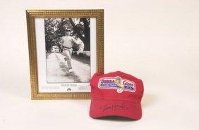 Forrest Gump Baseball Hat Signed By Tom Hank
