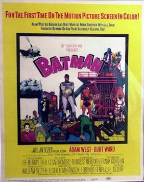 Batman, An Original 1967 Batman Movie Poster