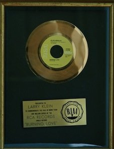 Elvis RIAA Record Award