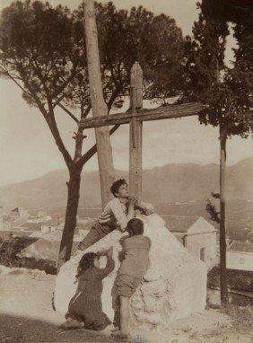 Wilhelm Von Gloeden (1856-1931) Untitled (Sicily)