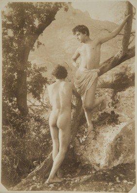 Wilhelm Von Gloeden (1856-1931) Untitled (Young Bo
