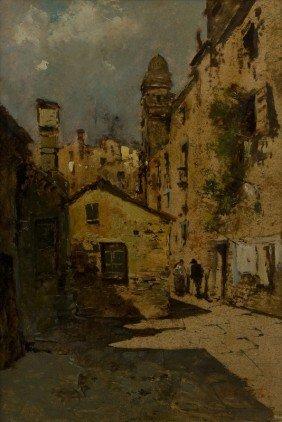 Ezelino Briante (Napoli 1901 - Roma 1971) Veduta D