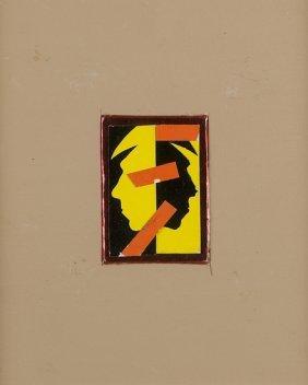 Sergio Lombardo (Roma, 1939) Autoritratto