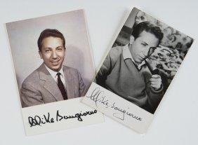 Bongiorno, Mike Foto Cartoline Autografate