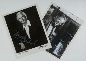 Brubeck, Dave E Oscar Peterson Fotografie Autografa