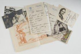 Caruso, Enrico Documenti Relativi Alla Famiglia Gia