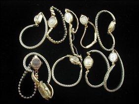 10 Ladies Gold Wrist Watches