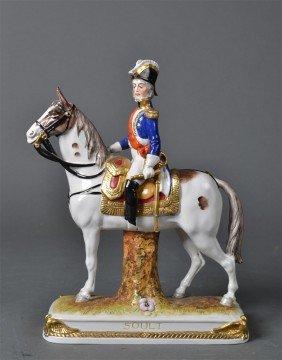 Schumann Dresden Porcelain, Napoleonic Soldier