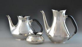 (3) Pcs. Danish Modernistic Tea & Coffee Service