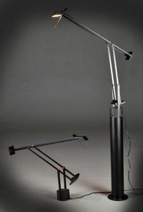 (2) Artemide-Modello Design Lamps