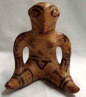 Casas Grande Polychrome Effigy Pottery