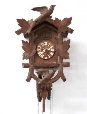 Estate European Wooden Cuckoo Clock