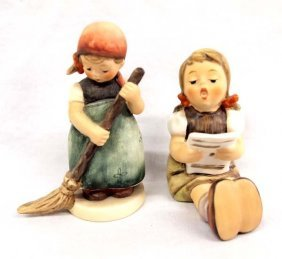 2 Goebel Figurines