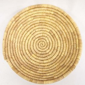 Native American Hopi Coiled Basket