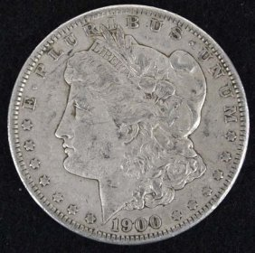 1900 Morgan Silver Dollar