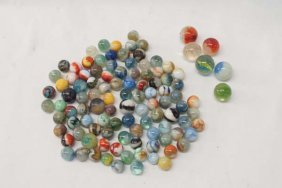 100+ Antique Marbles And Shooters
