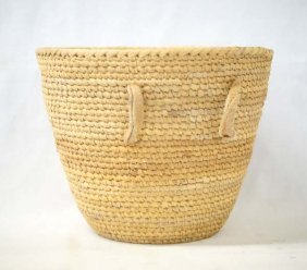 Native American Pima Burden Basket