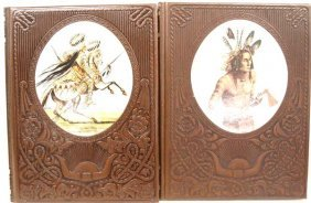 Old West Time Leather Book Indians & Great Chiefs