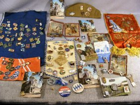 Large Lot Of Medals & Pins, Most Are Russian Sovie
