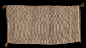 "Navajo Double Woven Rug 16""x 30 1/2"" Collected By D"