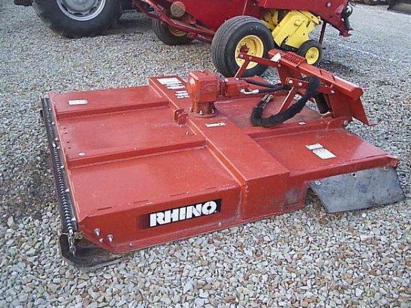Skid Steer Brush Hog : Rhino sm brush hog for skid steer loaders quot nice