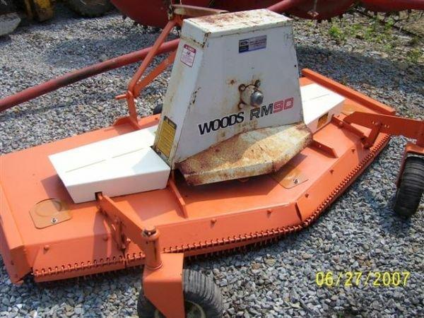 Woods Pto Shaft : Woods rm quot pt pto drive finish mower lot
