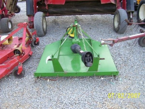 1117 Nice John Deere 413 4 3pt Brush Hog Mower Lot 1117