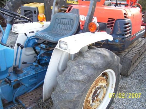 Ford 1710 Loader : Ford wd tractor w front loader nice