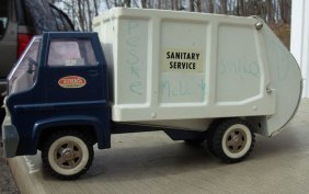Tonka Gas Turbine Sanitation Truck, Late 60's Very