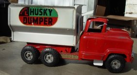 Buddy-L Husky Manual Dump 50's GMC, Very Good Cond