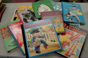 Box Lot Of Childrens Books Including Peter Church M