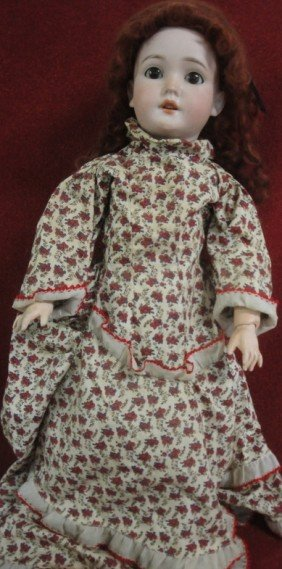 Signed Pansy II Germany Doll - Fixed Brown Eyes -