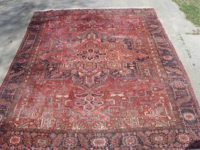 Room Size Hand Made Oriental Rug.