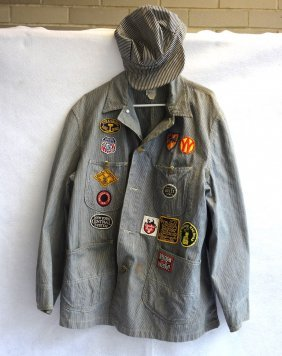 Grouping Of 2 Items Including A Lee Engineers Jacket