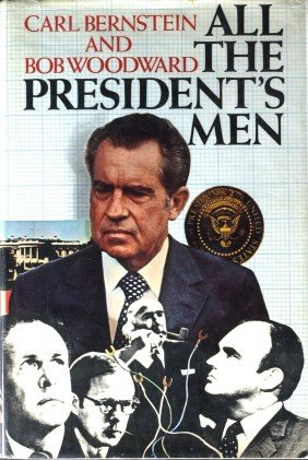 Watergate BOB WOODWARD - His Book Signed