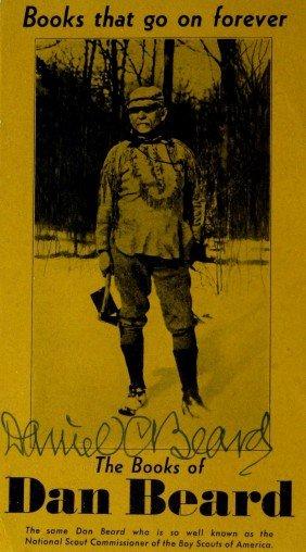 Boy Scouts DAN BEARD - Flyer Signed