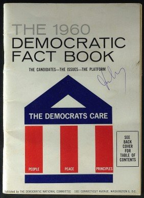 JOHN F KENNEDY - 1960 Democratic Fact Book