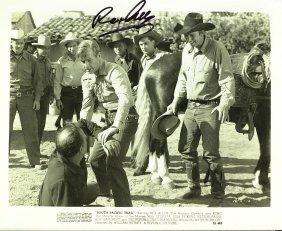 Cowboy Actor REX ALLEN - Photo Signed