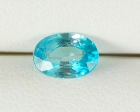 BLUE ZIRCON 1.45 CARATS FINE VS GEMSTONE
