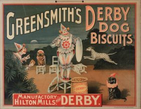 Anon Greensmith's Derby Dog Biscuits, Original Chro