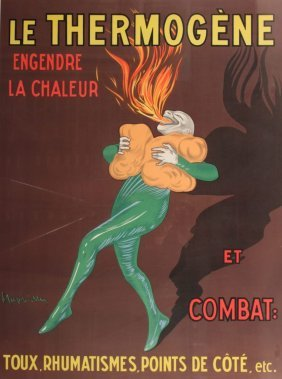 After Leonetto Cappiello Le Thermogene, Later Repri