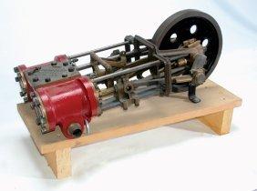 CA.1903 PRESCOTT TWIN CYLINDER STEAM CAR ENGINE